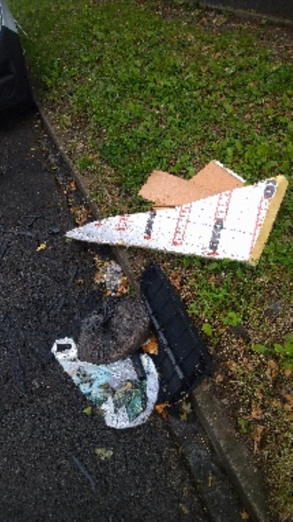 Flytipped items no evidence taken -161 Blagdon Road, Reading, RG2 7NE