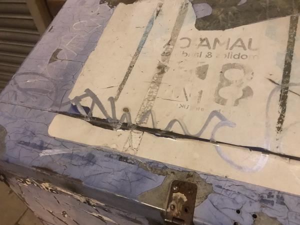 Newspaper box -10a Moorside Rd, Bromley BR1 5HR, UK