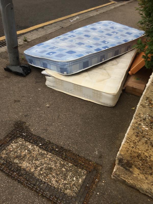 Major hot spot of dumped rubbish-31 Essex Road, Manor Park, E12 6RF