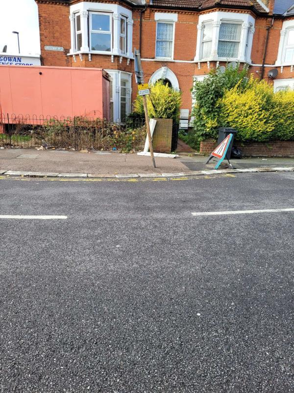 Please clear flytip. Reported via Fux My Street-112 Ardgowan Road, London, SE6 1UU