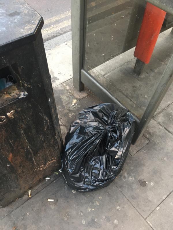 Rubbish -172 Plashet Road, Green Street East, E13 0QU