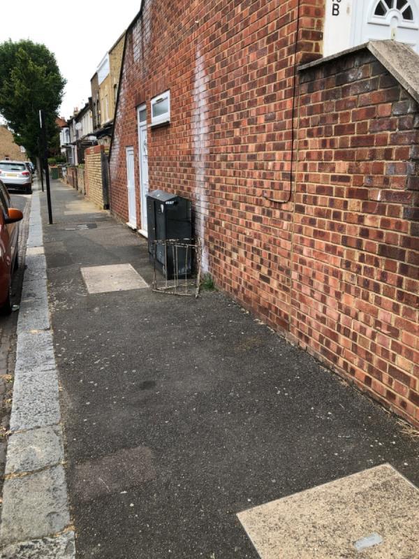 Drying rack-70c Margery Park Road, London, E7 9LB