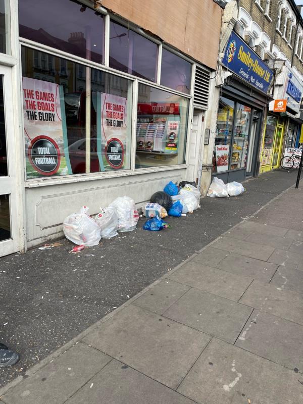Rubbish -837 Romford Rd, London E12 5JY, UK