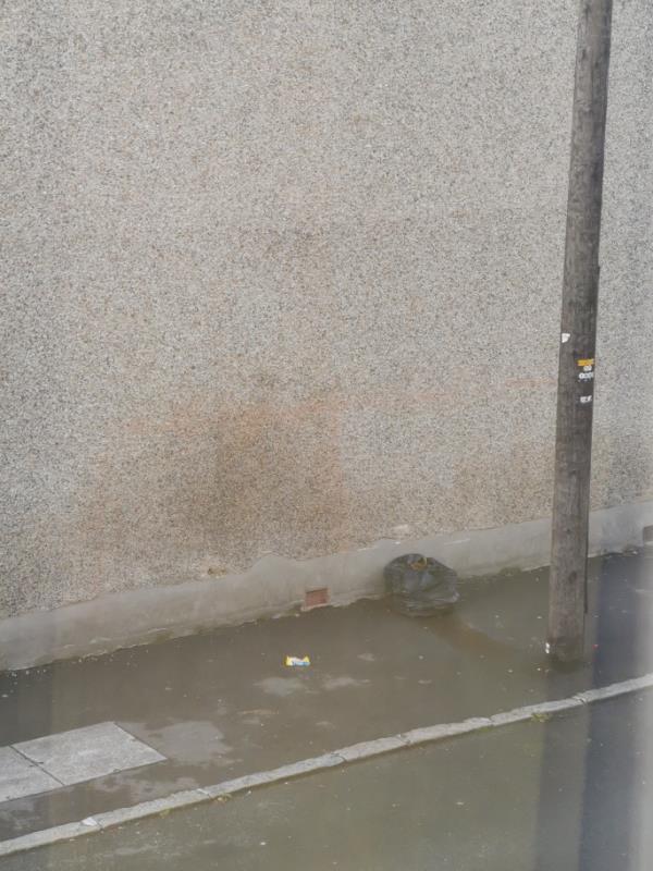 Rubbish left on street-22 Norfolk Street, London, E7 0HN