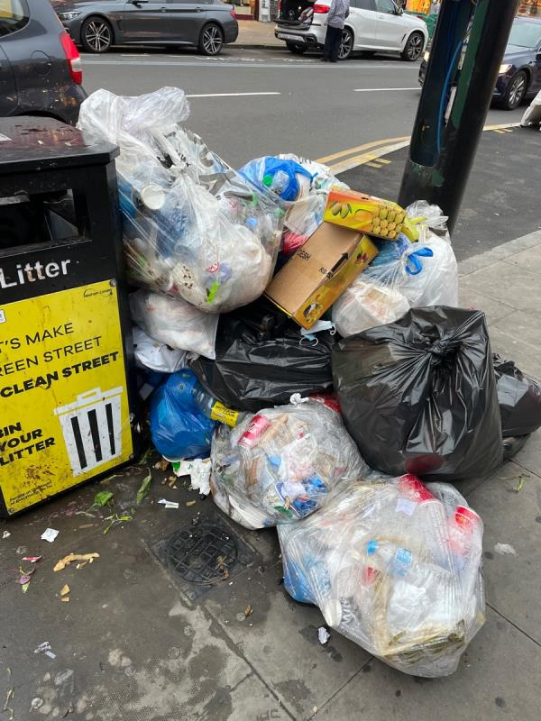Rubbish-336 Green Street, Plaistow, E13 9AP