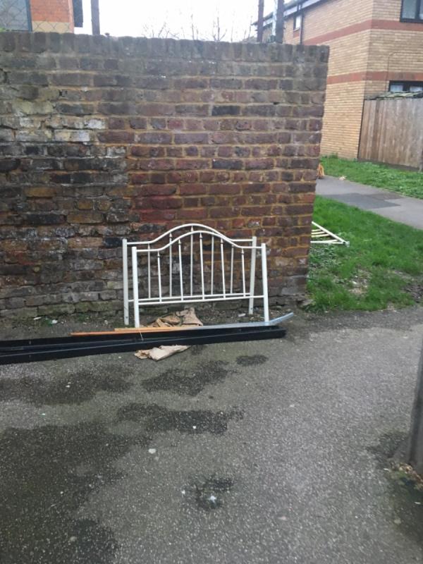 Bed frame-2 Arthur Horsley Walk, London, E7 9BD