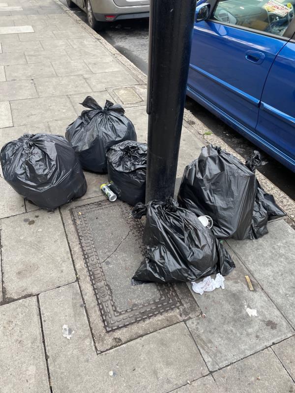 Rubbish -52 Plashet Grove, East Ham, E6 1AE