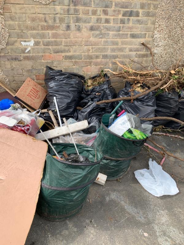 Dangerous rubbish-51 Cruikshank Road, London, E15 1SR
