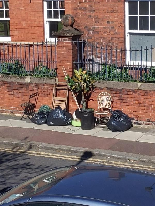 Plants, garden furniture, bags-20 Samson Street, London, E13 9EJ