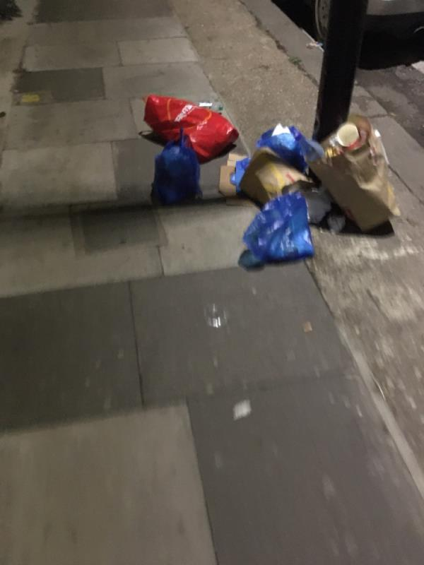 Please sort this out. -1 Glenparke Road, London, E7 8BP