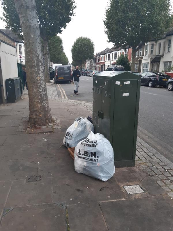 Domestic waste -24 Central Park Rd, London E6 3DY, UK