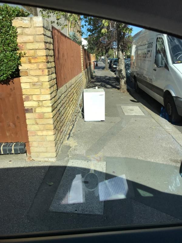 Fridge -76 Bovill Road, London, SE23 1EJ