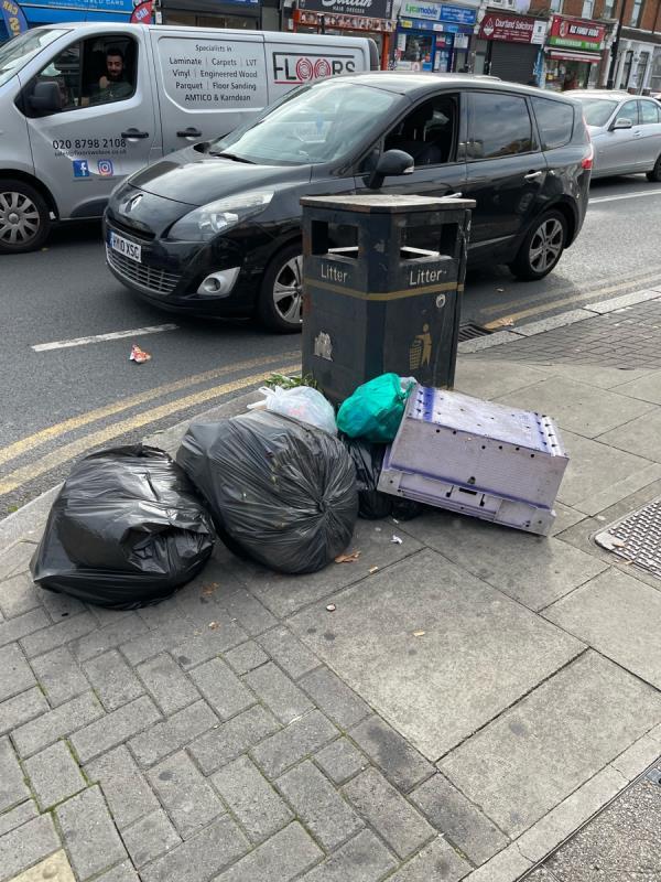Rubbish-909 Romford Rd, London E12 5JT, UK