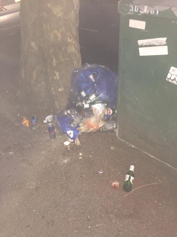 Rubbish dump -124 Shelley Ave, East Ham, London E12 6PU, UK