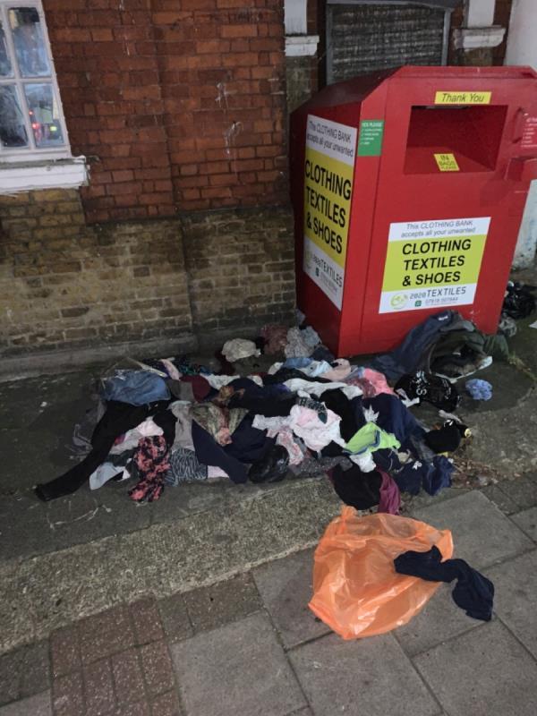 Fucking scruffy people -Seventh Avenue (Stop M), London E12 5JF, UK