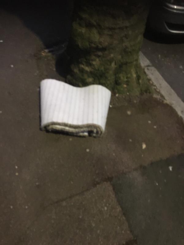 Rubbish dumper  image 1-62 Coleridge Avenue, Manor Park, E12 6RG