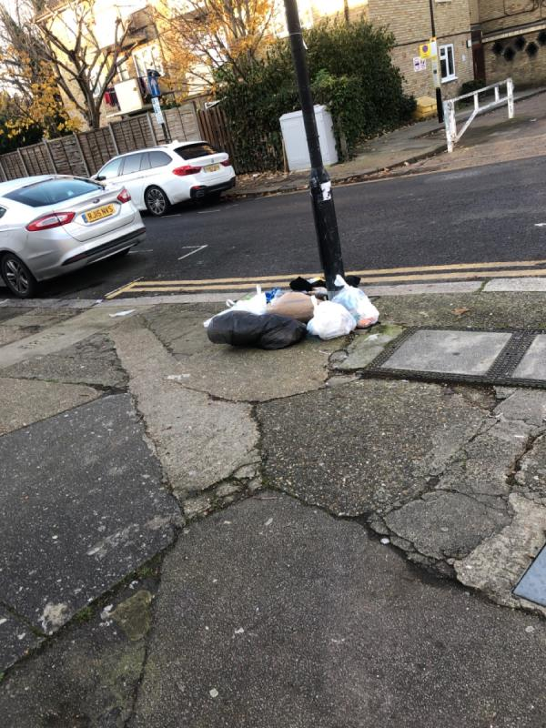 Rubbish -5b Forster Road, London, N17 6QD