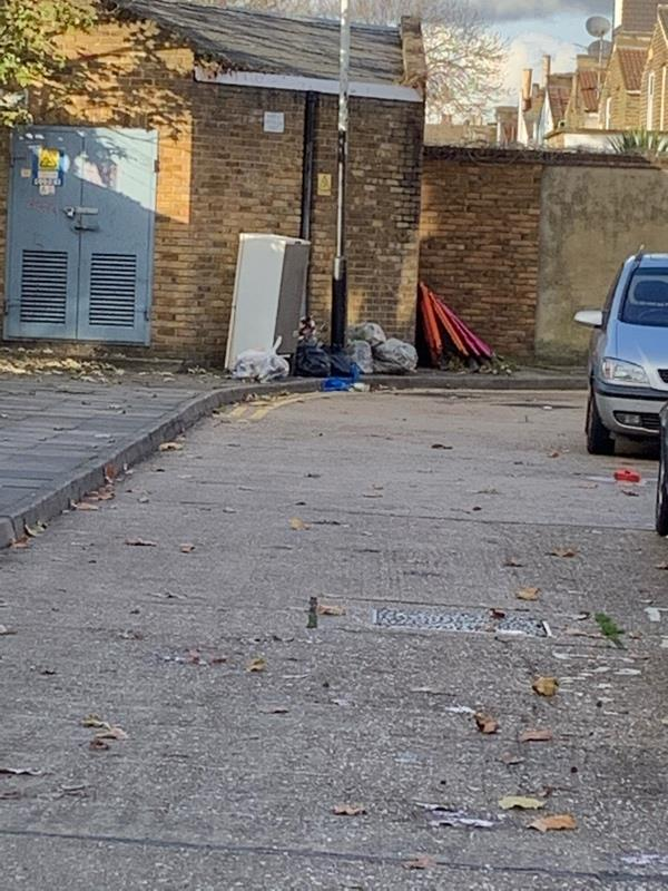 At far end of Stondon walk service road (adj to abbots road)-2 Stondon Walk, London, E6 1LZ