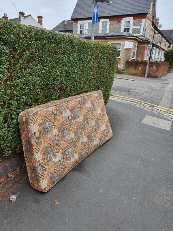 Mattress dumped on cholmeley rd-37 Cholmeley Road, Reading, RG1 3NQ