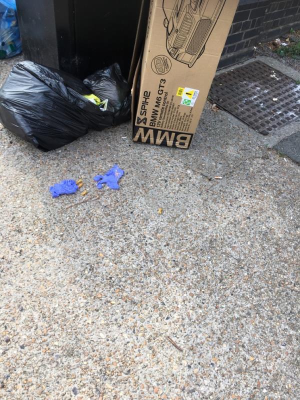 Rubbish -22 Greengate Street, Plaistow, E13 0AS