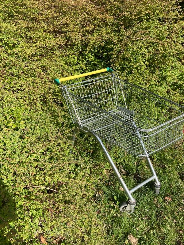 Trolley -14 Stubbs Moor Road, Farnborough, GU14 8RH