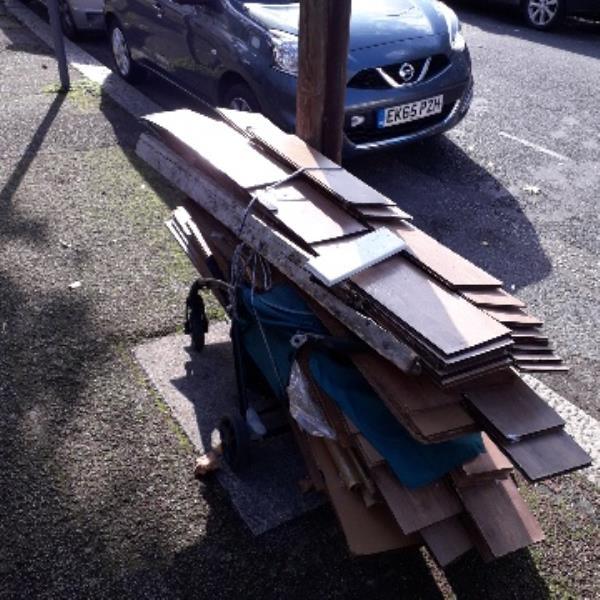 floorboards -11 Herbert Road, London, E12 6AY