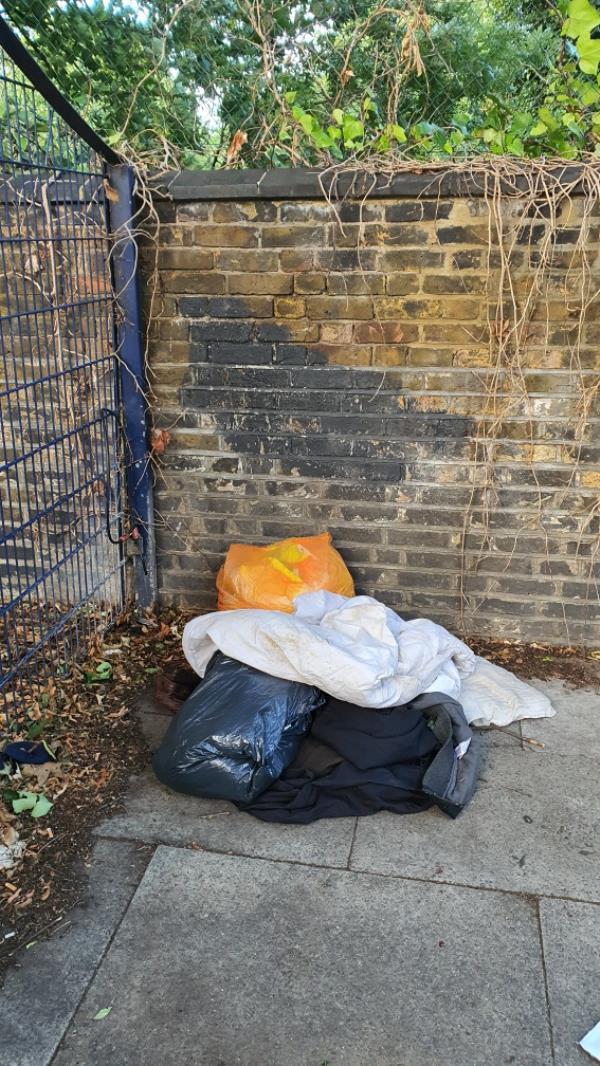 bags, clothes -119b Earlham Grove, London, E7 9AP