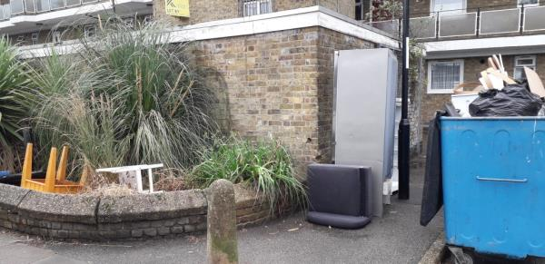 north house  sofa, chairs,  table, fridge  etc. -North House Grove Street, London, SE8 3LY
