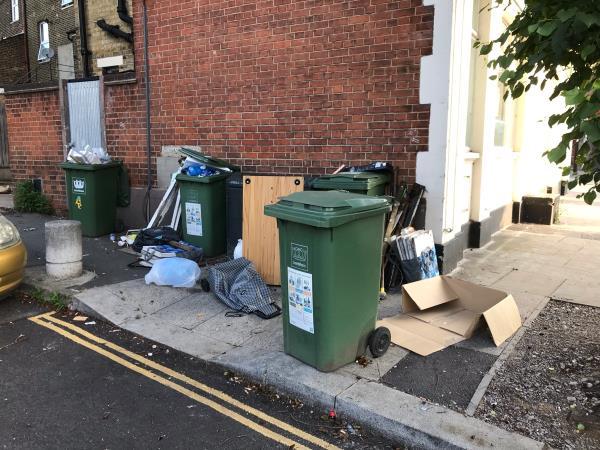Builders waste ad furniture  image 1-2 Venner Road, London, SE26 5QW