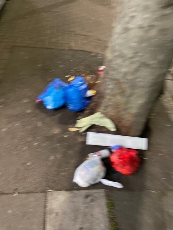 Rubbish -383 Katherine Road, Green Street East, E7 8LT