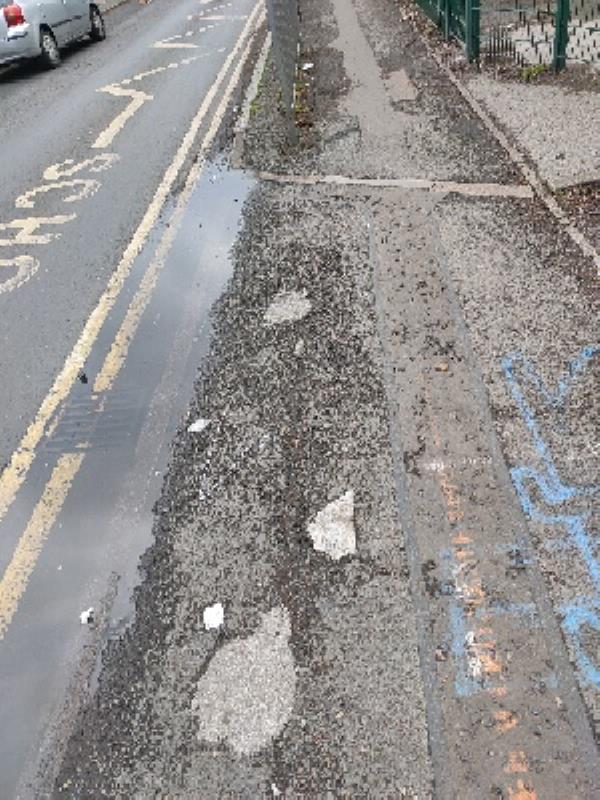 Drain blocked -92 Brandon Street, Leicester, LE4 6AX