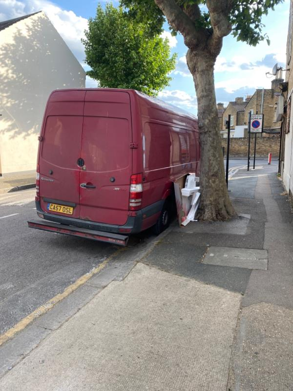 Next to the shop on Wilson Road -24 Wilson Road, London, E6 3EF