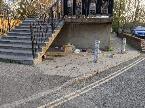rubbish dumped-230 Daubeney Road, London, E5 0EP