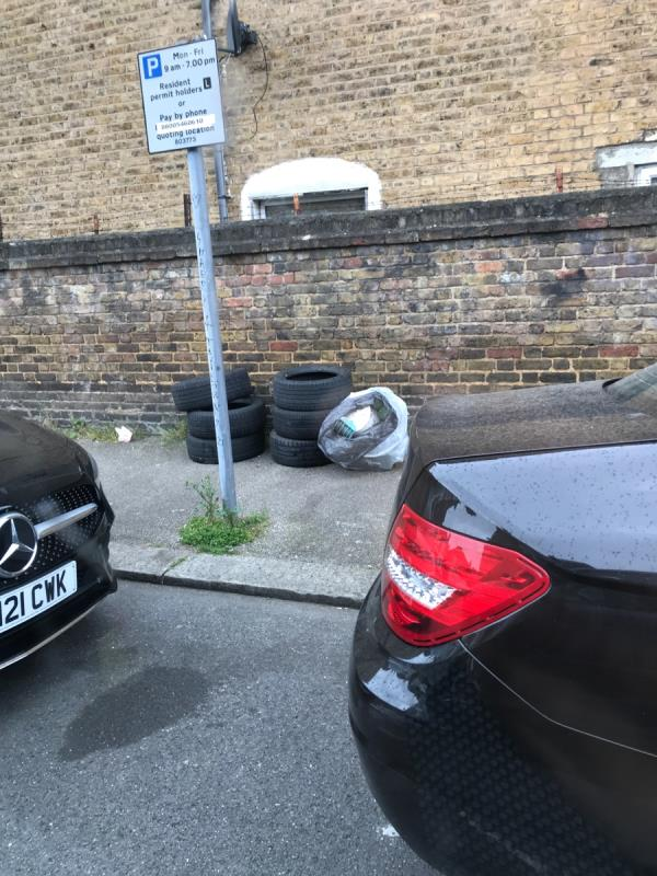 Mobile 9 job tyres Cudham Street -57b Ringstead Road, London, SE6 2BU