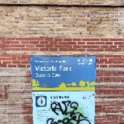 graffiti-Formerly The Victoria Park Tavern, 360 Victoria Park Road, London, E9 7BT