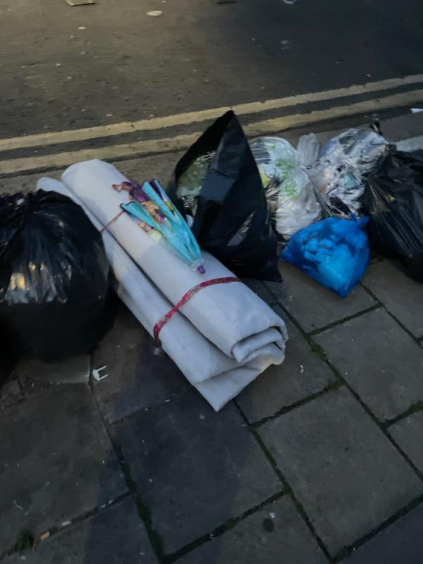 Rubbish  image 1-150a Plashet Road, Plaistow, E13 0QS