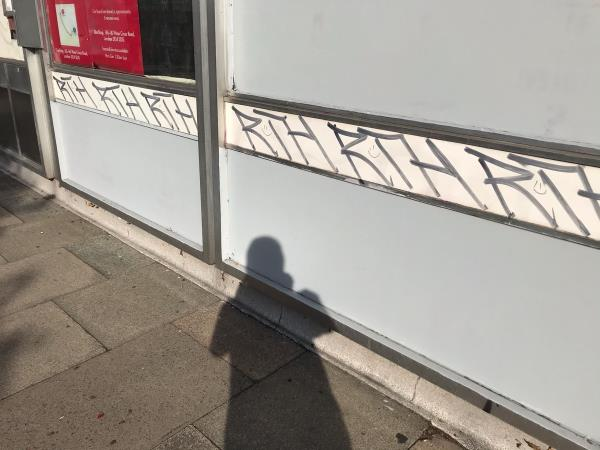 Pillars paint 1m-275a New Cross Road, London, SE14 6AF