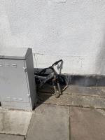 Mattress, bed base, headboard, bike frame and bag of litter  image 1-357 Allenby Road, London, UB1 2HE