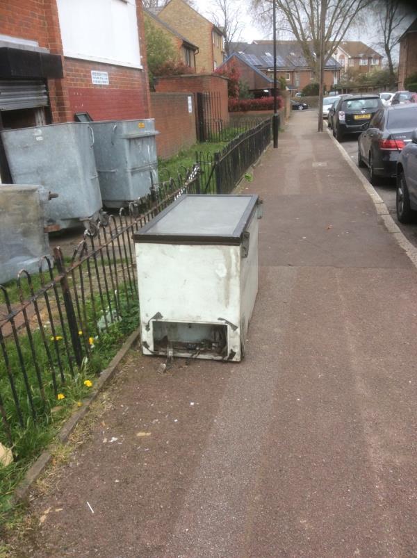 Outside 47-67 Sutton rd E13-15 Barking Road, London, E6 1PW