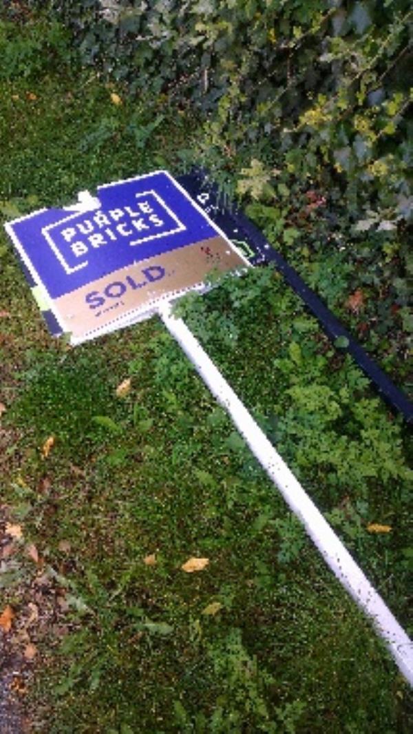 Flytipped items no evidence taken -16 Upper Redlands Road, Reading, RG1 5JP
