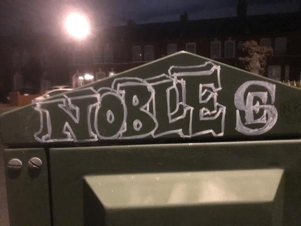 Cable box -7 Saint Fillans Road, London, SE6 1DG