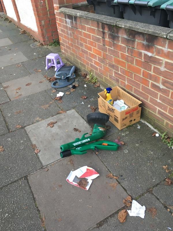 Dunbar Road N22 outside 32-30 Dunbar Road, London, N22 5BE
