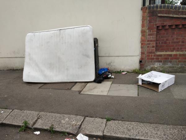 old mattress-67 Stokes Road, East Ham, E6 3SD