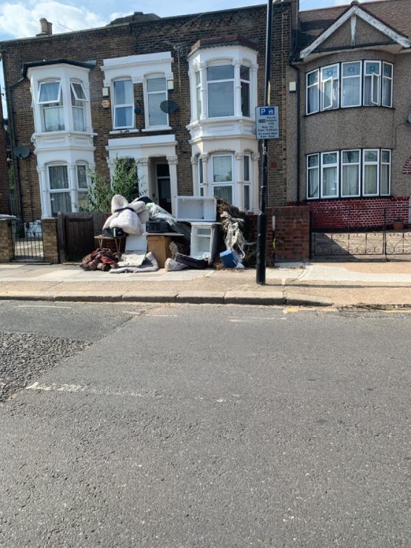 Lots of rubbish-80 Gurney Road, London, E15 1SL