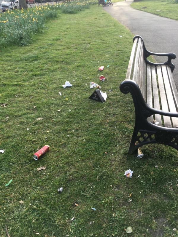 Park litter!!!-1 Streatfeild Avenue, London, E6 2LA