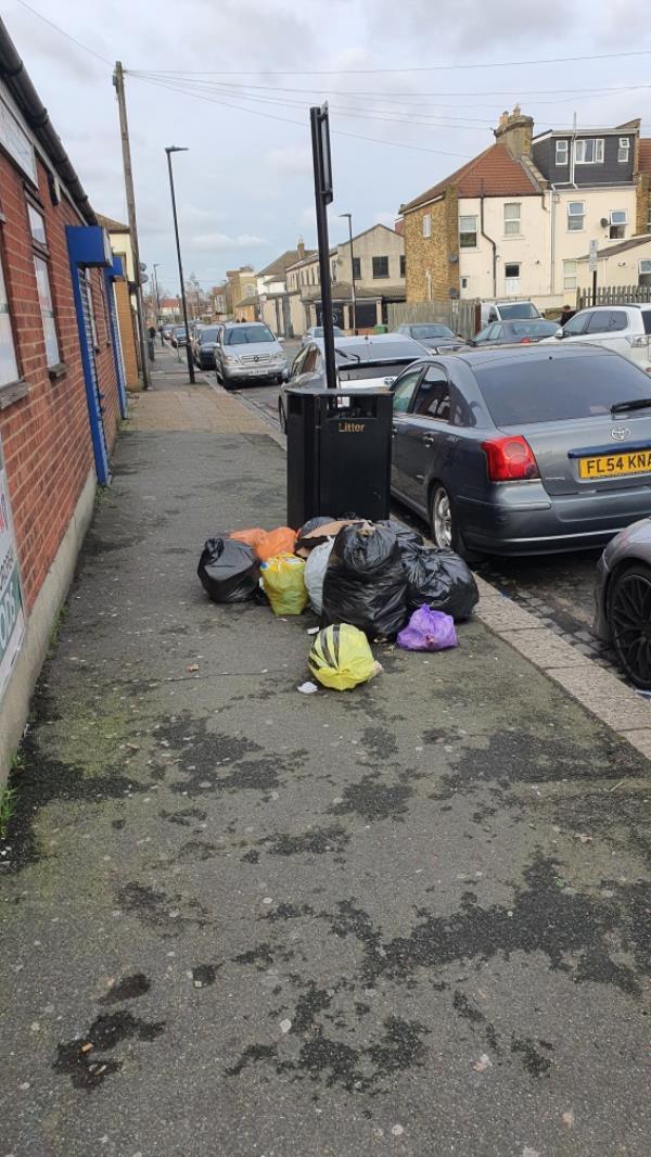 pile 0f bags-155 Plashet Road, London, E13 0QZ