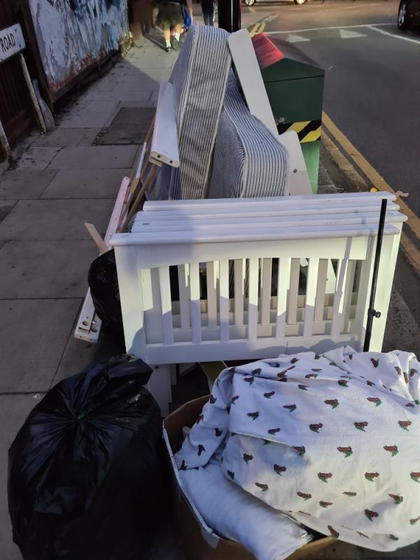 Dumped today-13 Boreham Road, London, N22 6SL