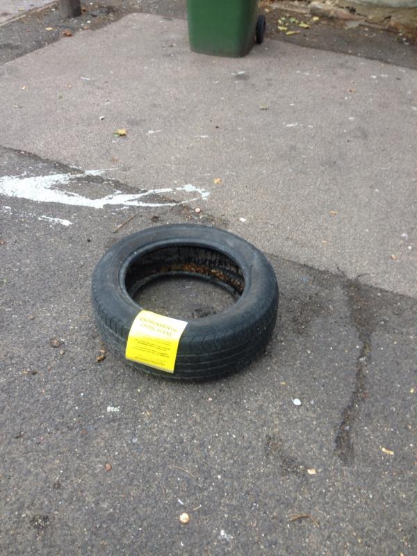 Tyre-148 Wakefield Street, East Ham, E6 1EW