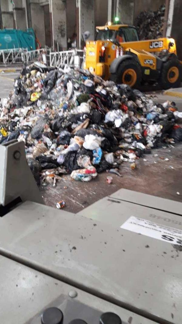 VK69 XWR  Bristol waste rcv bedminster -Severnside Energy Recovery Centre Severn Road, Hallen, BS10 7SD