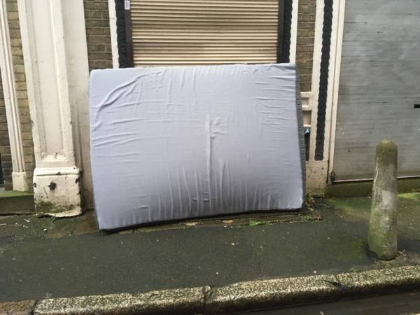 Mattress left out-8 Fairchild Place, London, EC2A 3EN